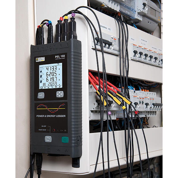 PEL103 portable energy logger for monitor circuits